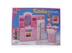"Кухня ""Gloria"" 24016 (12шт)батар.,холодильник,газплита,мойка,в кор.43*30*6см"