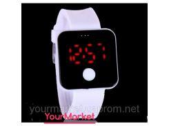 Силиконовые электронные спортивные  часы