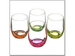 Набор стаканов низких Bohemia Neon 300 мл 4 пр (D4904), b25180-D4904
