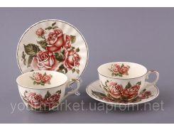 69-1761, Набор чайный Корейская роза 4 пр