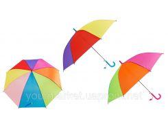 """Зонт """"Радуга"""" E12803  2 цвета, в пакете 61см"""