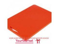 9853RJ3810, Доска разделочная Durplastics 380х260х10 мм красная