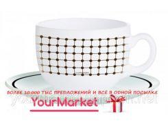 Чашка с блюдцем чайная Luminarc Tiago 220 мл 2 пр, J7855