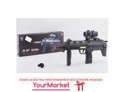 Автомат батар AK-828 (72шт/2) свет, звук, в коробке