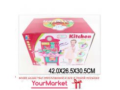 "Набор ""Кухня"" 3830-19 (1635071) (8шт/2) газ.плита, духовка,посуда в кор.42*26*30см"