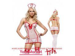 Костюм сексуальная Медсестричка костюм для ролевых игр