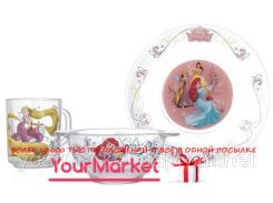 Набор для детей ОСЗ Disney Принцесса 3 пр h.1914
