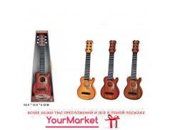 Гитара 890-B10 3 цвета микс,в кор. 50,5*16,5*6см