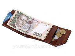 Зажим для денег Soldi, терракот,120123GP