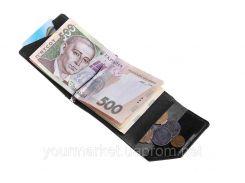 Зажим для денег Soldi, глянец, черный,120610GP