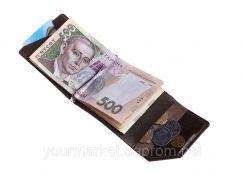 Зажим для денег Soldi, глянец, шоколад,120620GP