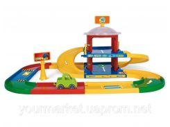 Трек Kid Cars 3D Wader  - гараж 2 поверхи (3,4м.) арт. 53020