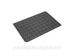 Коврик силиконовый для макаронс Silikomart d=40мм 600х400 мм