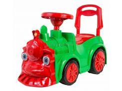 """Автомобіль для прогулянок """"Паравозик"""" (зелений), арт. 761, Орион"""