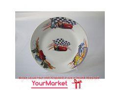 Тарелка суповая Тачки 16862VT