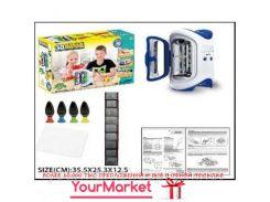 Набор ручка 3D LM111-1 (18шт)печка для запекания, формочки, 4 цвета ручек, в коробке 35,5*25,3*12,5