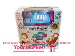 """Кассовый аппарат """"Frozen"""" 66051BX (18шт/2) свет-звук,сканер,тележка,продукты, в кор."""