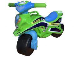 """Мотобайк """"Поліція"""" музич. (зелено-синій), арт. 0139/52, Фламинго (Долони)"""