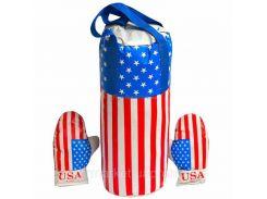 """Боксерський комплект середній """"Америка"""" (10), арт. 0002, Danko toys"""