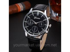 Мужские часы Geneua 9820 черные