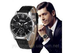 Мужские часы классические Geneua 9833