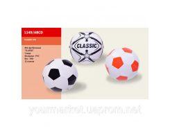 Мяч футбол 1149/ABCD Classic, 3 цвета, PVC, №5, 32 панели, 340г