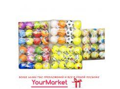 Мяч фомовый GM1710397 (80уп по 12шт) 5 видов, 6см