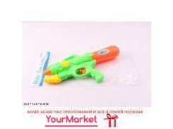 Водный пистолет 220-07  с насосом, 2 цвета, в пакете 33*14*6см
