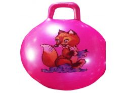 "Мяч для фитнеса CL12-002  ""Лисичка"" гири MIX, 45 сm 350 грамм"