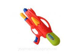 Водный пистолет 2823-2  с насосом, в пакете 34см
