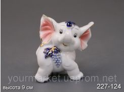 Фигурка декоративная Слоненок 9 см 227-124