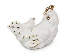 Фигурка декоративная Курица 7 см 149-105