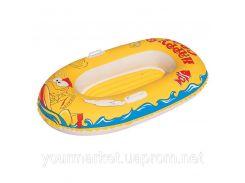 Лодка надувная детская 137*89 см, 34009
