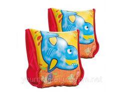 Нарукавники надувные для детей 3-6 лет, 23*18 см,56659