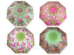 """Зонт """"Фламинго"""" CEL-257  4 вида,  в пакете 82см"""