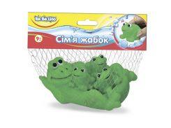 Пищалки для ванной Семья лягушек 9М+