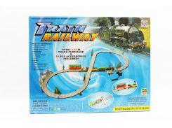 Железная дорога 08102  от сети, в коробке 46*36*6,5см