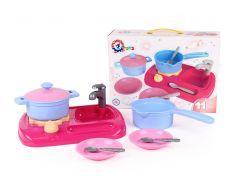 """Іграшка """"Кухня з набором посуду ТехноК"""" арт. 5989"""