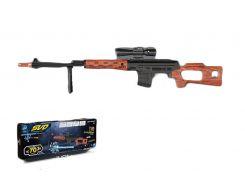 Снайперская винтовка батар.02-A свет,звук,в кор. 79,2*7,3*28см