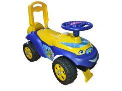 """Іграшка дитяча для катання """"Машинка"""" музична 0142/04RU"""