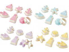 Набор форм для печенья море Bager 6 пр 4 цвета в ассортименте BG-235