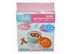 Набор трафарет для кофе Qlux MIX, 4 предмета,L-00556