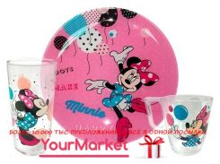 Набор для детей Luminarc Disney Party Minnie 3 пр, L4877