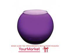 Ваза круглая Pasabahce Enjoy 10 см фиолетовая 43417