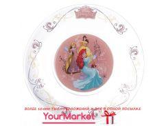 Тарелка десертная ОСЗ Disney Принцесса 19,5 см 16с1914