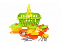Набір посуду в кошику, арт. 4456, ТехноК
