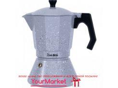 Гейзерная кофеварка Con Brio для всех видов плит 9 чашок алюм. 6709 CB