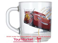 Кружка Luminarc Disney Cars 3 250 мл прозрачная 07c1335