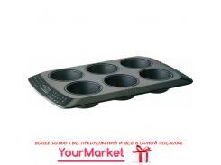Форма прямоугольная для кексов/мафинов 6 порц. по 6,5 см Pyrex MBCBMT6