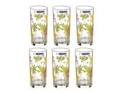 Набор стаканов высоких Crazy Flowers 270 мл 6 пр Luminarc (Е) N0753/G4604
